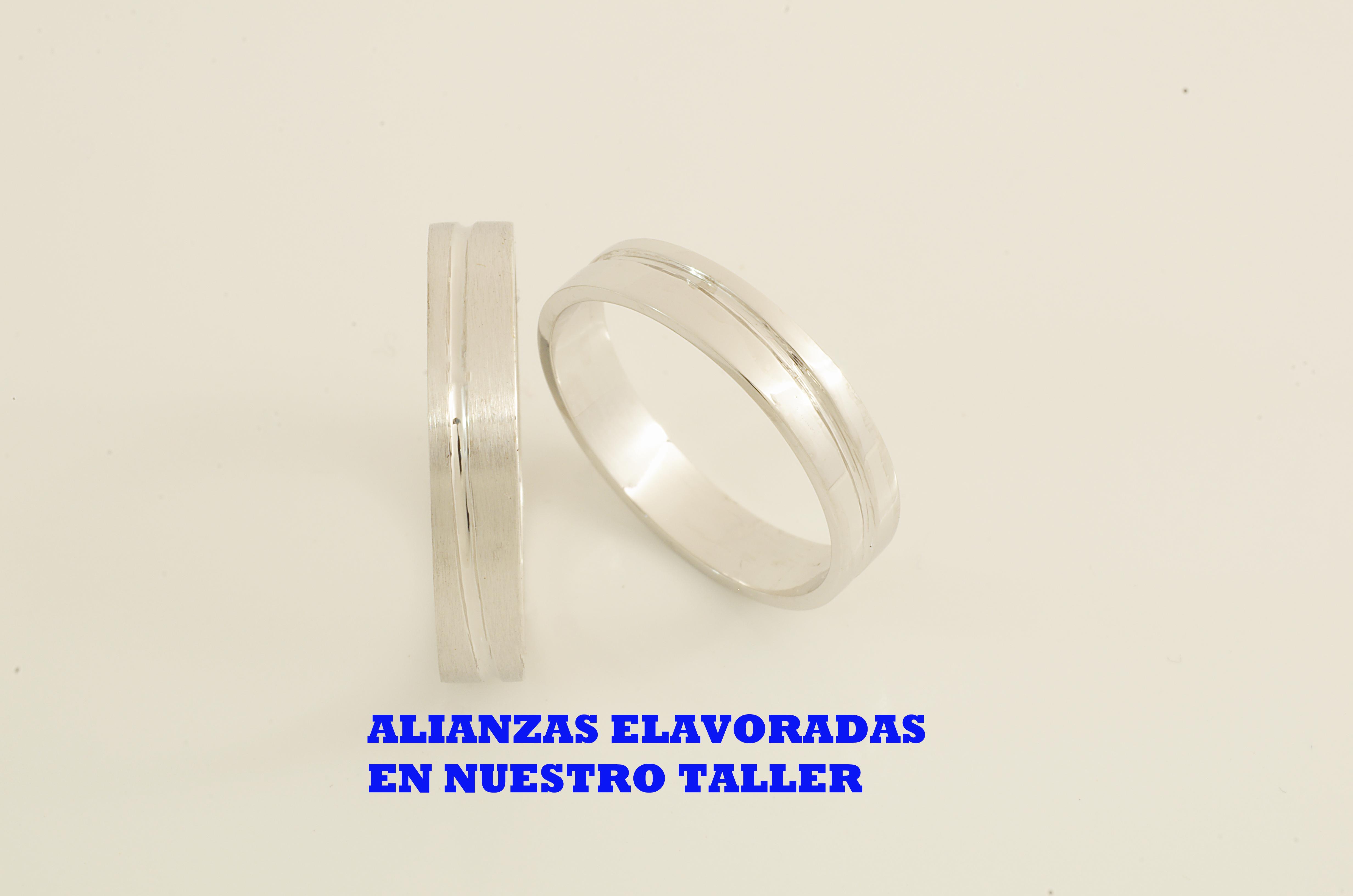 ALIANZAS ORO BLANCO