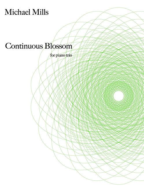 Continuous Blossom (PDF) Piano Trio - Score & Parts