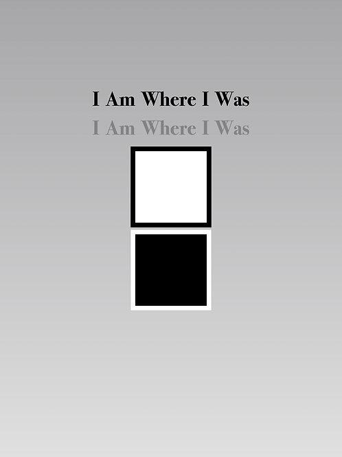 I Am Where I Was (PDF) Violin & Cello Duet - Score & Parts