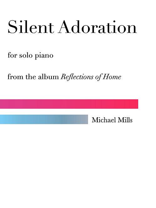 Silent Adoration (PDF) Piano Solo
