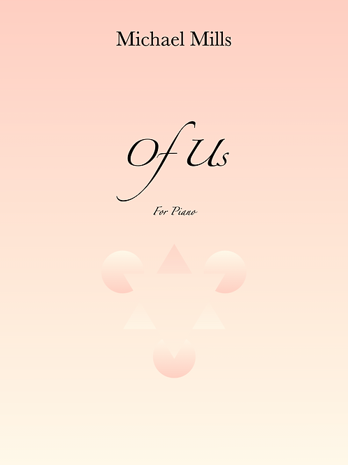 Of Us (Print) Piano Solo