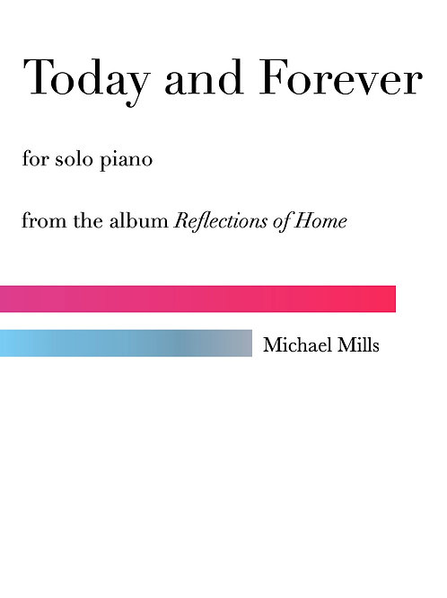 Today and Forever (PDF) Piano Solo