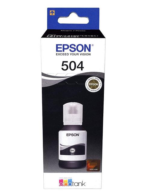 Tinta Epson 504 Negra