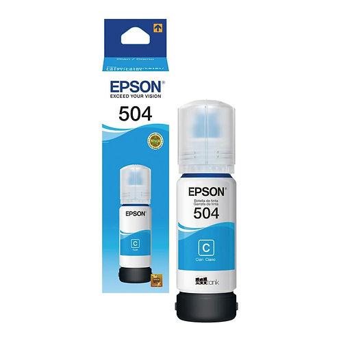Tinta Epson 504 Cyan