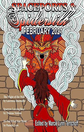 SPACEPORTS & SPIDERSILK February 2021 edited by Marcie Tentchoff