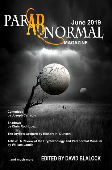 PARABNORMAL MAGAZINE June 2019 edited by H David Blalock