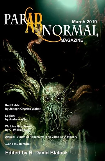 PARABNORMAL MAGAZINE March 2019 edited by H David Blalock
