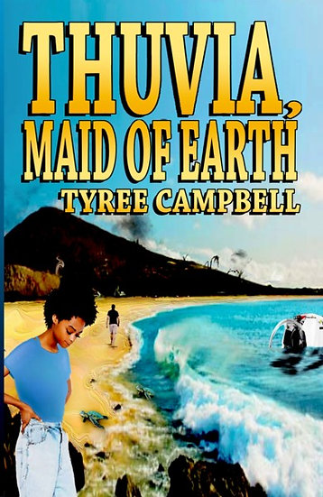 THUVIA, MAID OF EARTH by Tyree Campbell