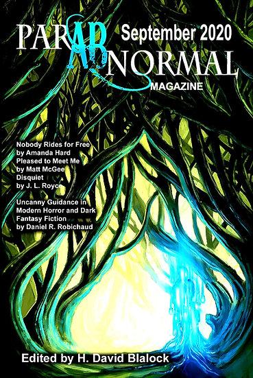 PARABNORMAL MAGAZINE September 2020 edited by H David Blalock