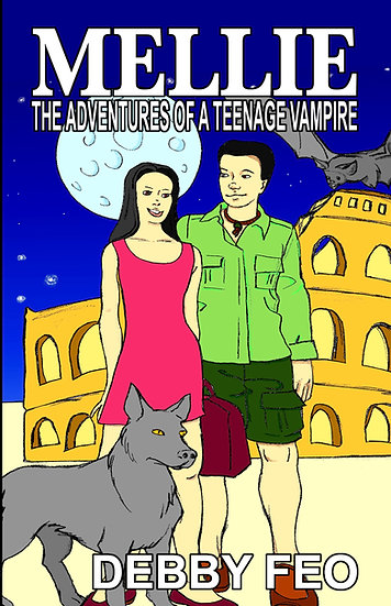 MELLIE: THE ADVENTURES OF A TEENAGE VAMPIRE by Debby Feo