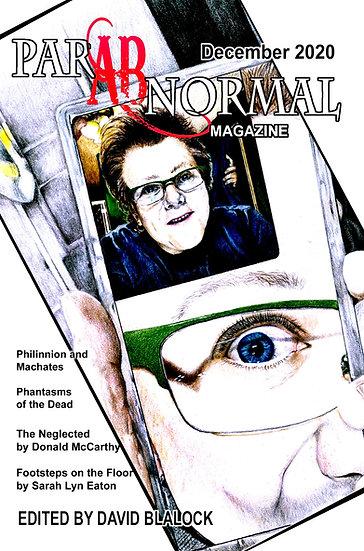 PARABNORMAL MAGAZINE December 2020 edited by H David Blalock