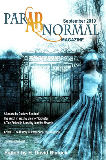 PARABNORMAL MAGAZINE September 2019 edited by H David Blalock