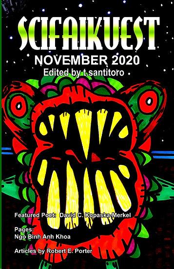 SCIFAIKUEST November 2020 edited by t. santitoro