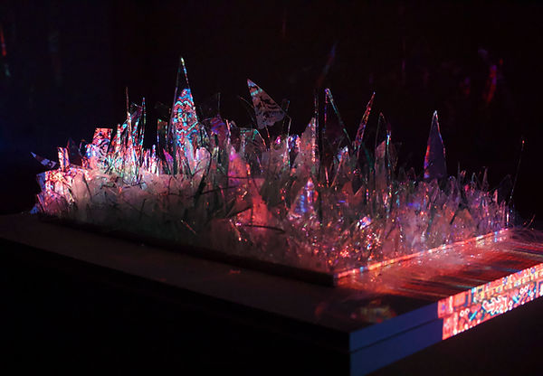 Sogand Tabatabaei/ Unbroken/ Mixed Media Installation/2021