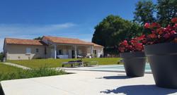 Moderne villa met overdekt terras