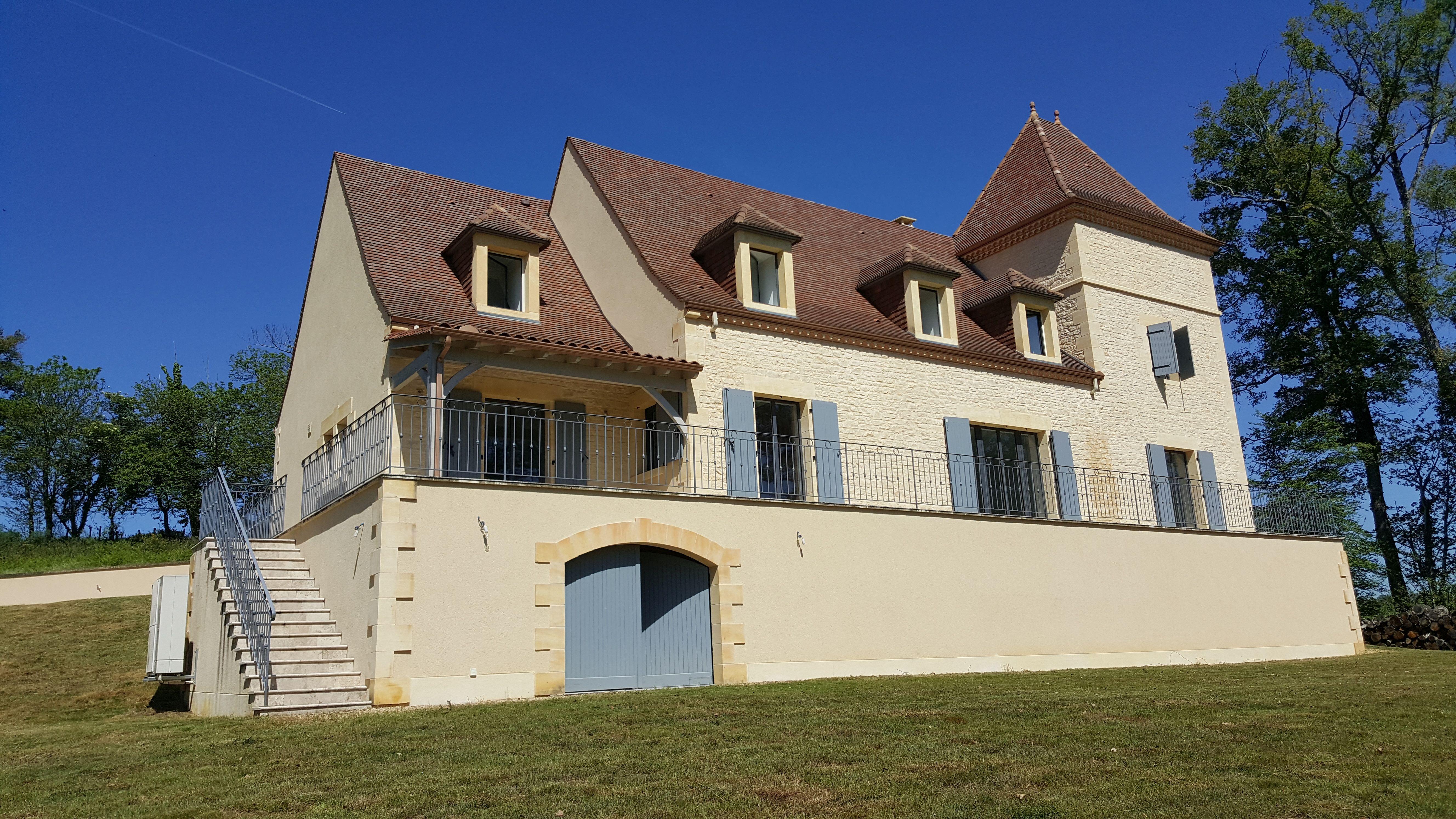 Prachtig landhuis met toren