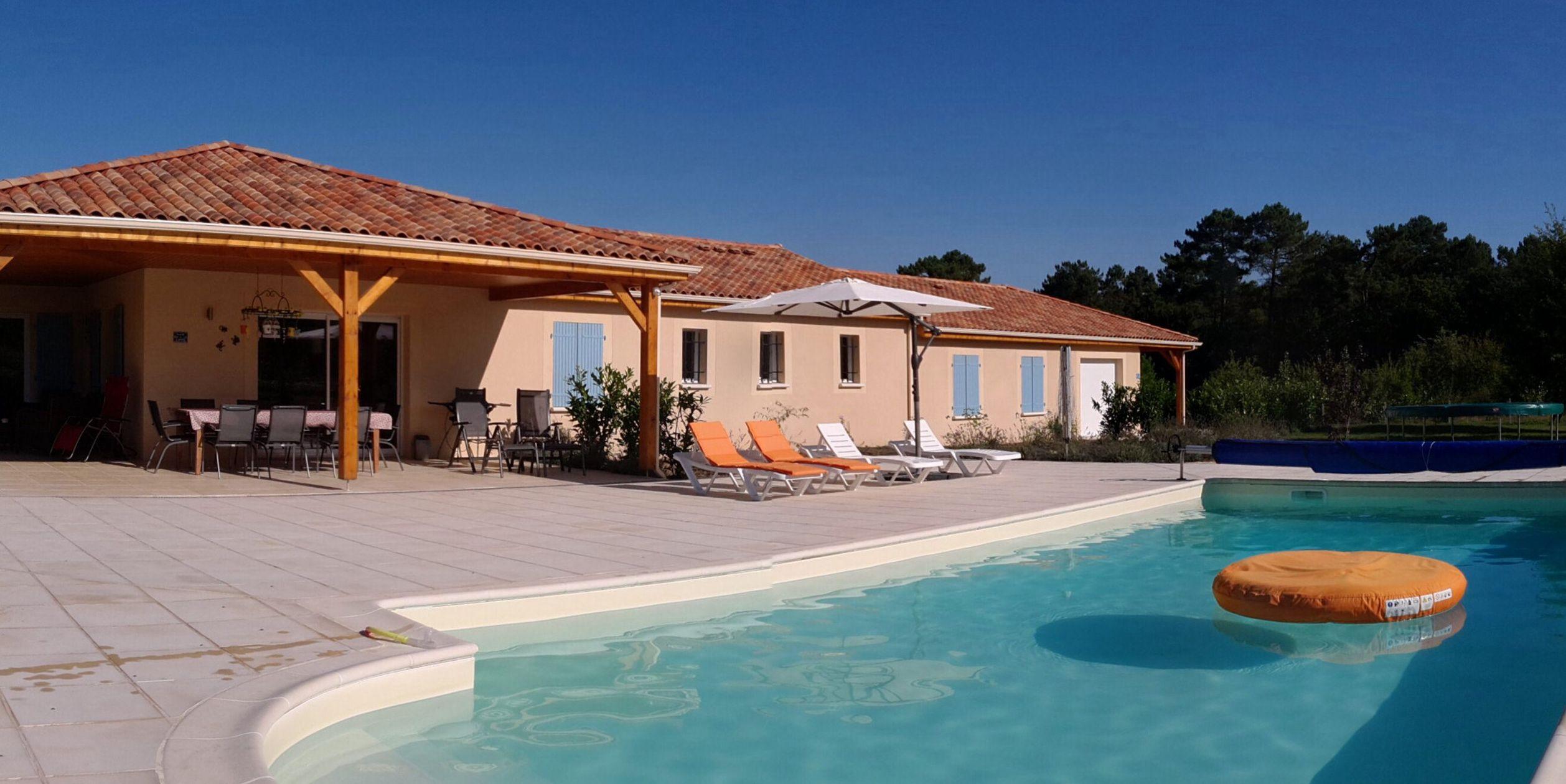 Modern huis met zwembad