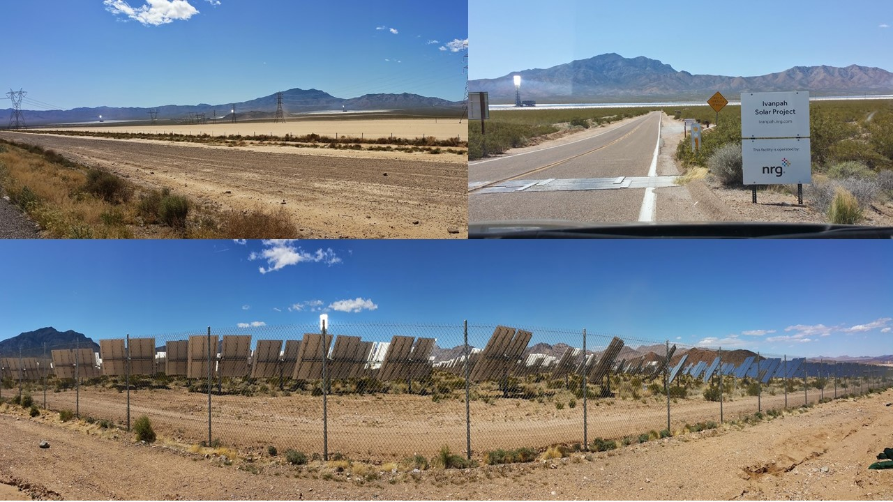 Ivenpah Large Solar Array