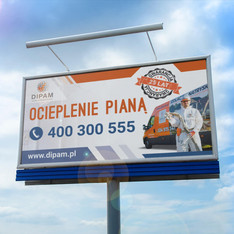 DIPAM.pl - projekt banera drukowanego
