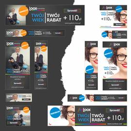 Loox - projekt banerów do kampanii Google Ads
