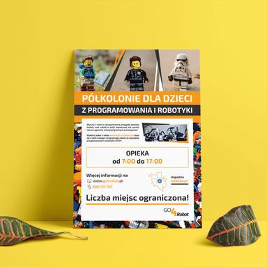 Go4Robot - projekt plakatu