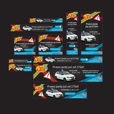 AutoLex - projekt banerów do kampanii Google Ads
