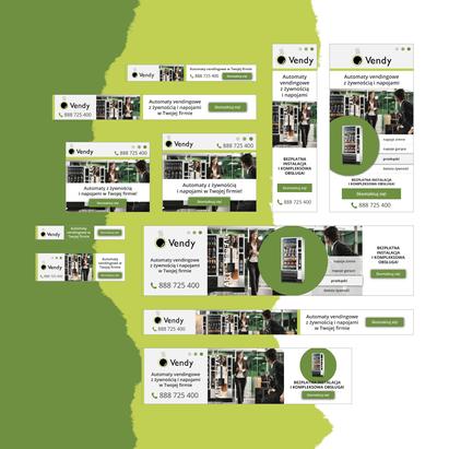 Vendy - projekt banerów do kampanii Google Ads