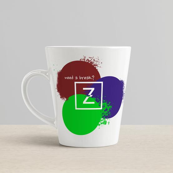 Łukasz Zaremba - nadruk logo na kubku