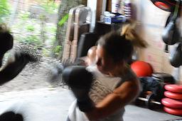 Lions Den Woman Boxing Coach