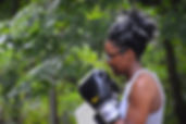 Lions Den Woman Boxing