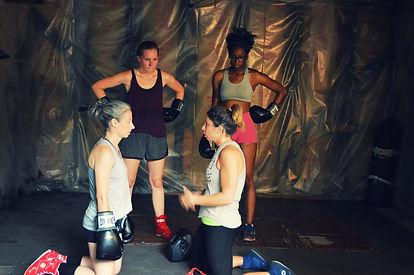 Women's Boxing Practice