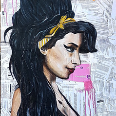 Amy Winehouse- 27 Club Project