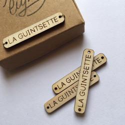 Étiquette à coudre - la Guintsette