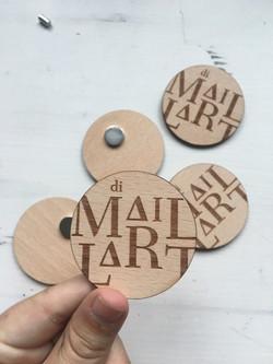 badge aimanté - Atelier Di maillart