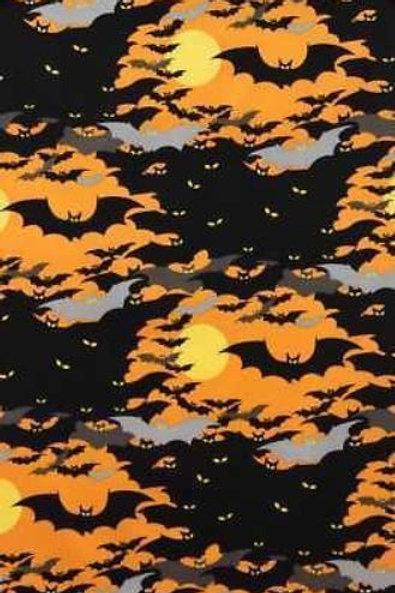 Alexander Henry Bats Halloween Quilt Fabric