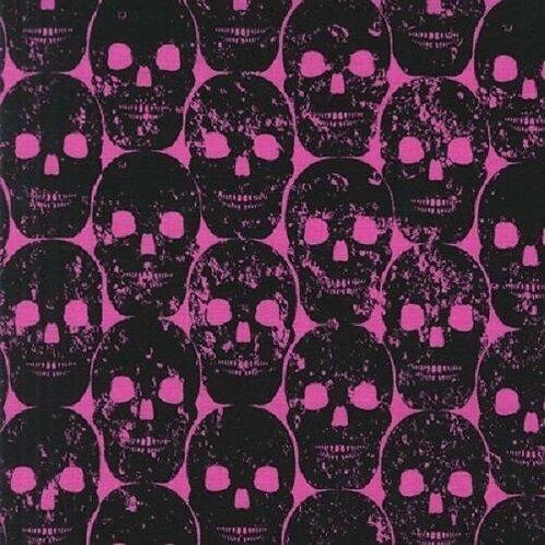 Michael Miller Skulls Out Candy Numb Skulls Quilt Fabric