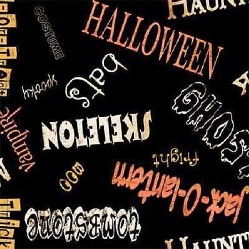 Spooky Spectacular Halloween Quilt Fabric