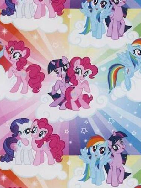 My Little Pony Quilt Fabric