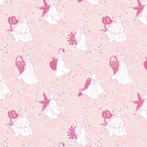 Disney Princesses Snow White Quilt Fabric