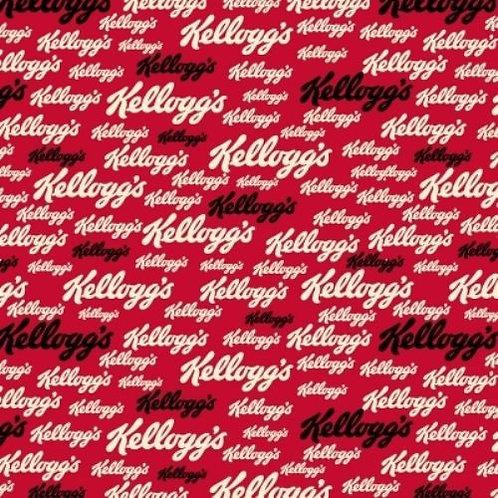 Kellogg's Cornflakes Retro Logos Quilt Fabric