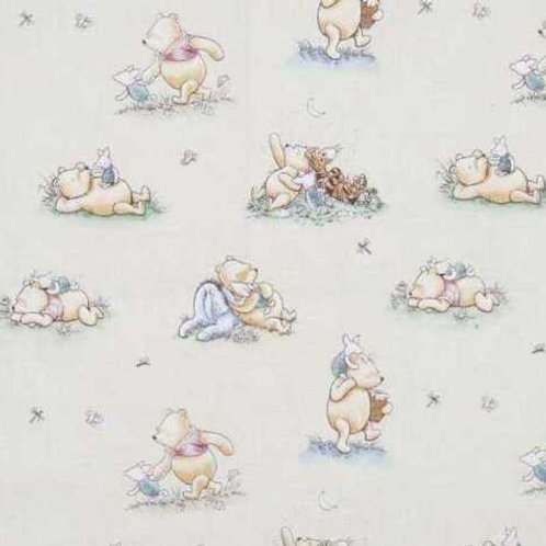 Winnie The Pooh Quiet Moments Quilt Fabric
