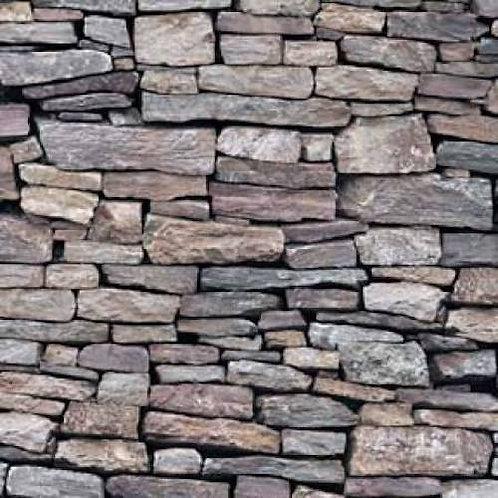 Rocks Stones Landscape Quilt Fabric