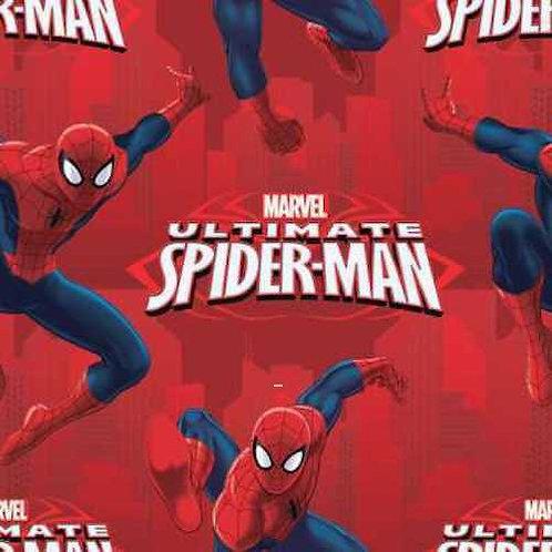 Spiderman Ultimate Hero Quilt Fabric