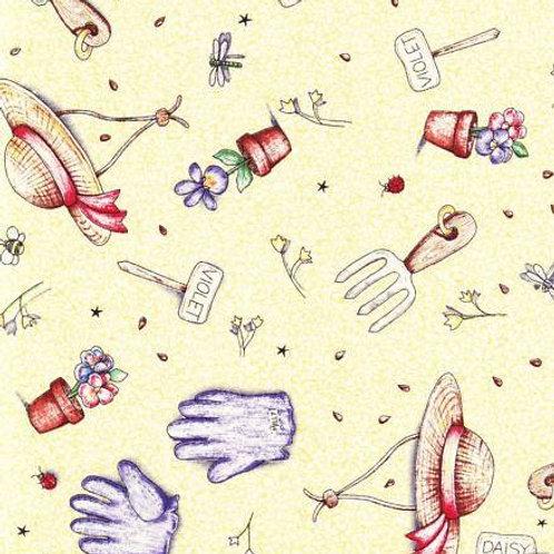 Miss Millie's Garden Toss Quilt Fabric