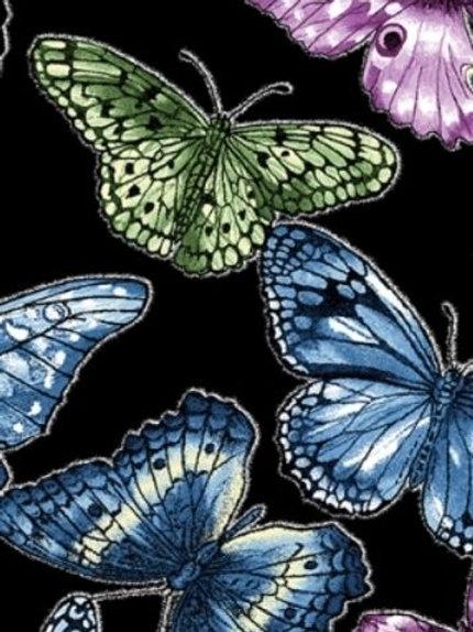 Butterfly Forest Butterflies Quilt Fabric