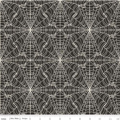 Lost & Found Webs Halloween Quilt Fabric