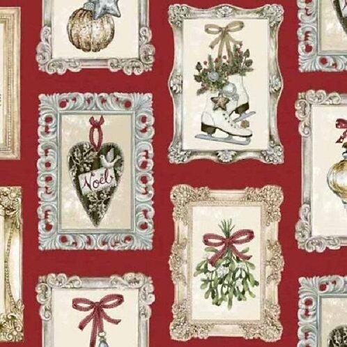 Balmoral Christmas Quilt Fabric