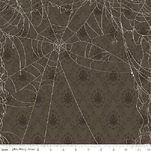 Witch Hazel Webs Halloween Quilt Fabric 1/2 yd