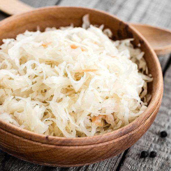 Sauerkraut, gekocht