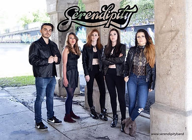 Serependity with band picture.jpg